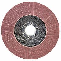 Круг лепестковый торцевой Т29 (конический) Ø125мм P220 SIGMA (9172691), фото 1