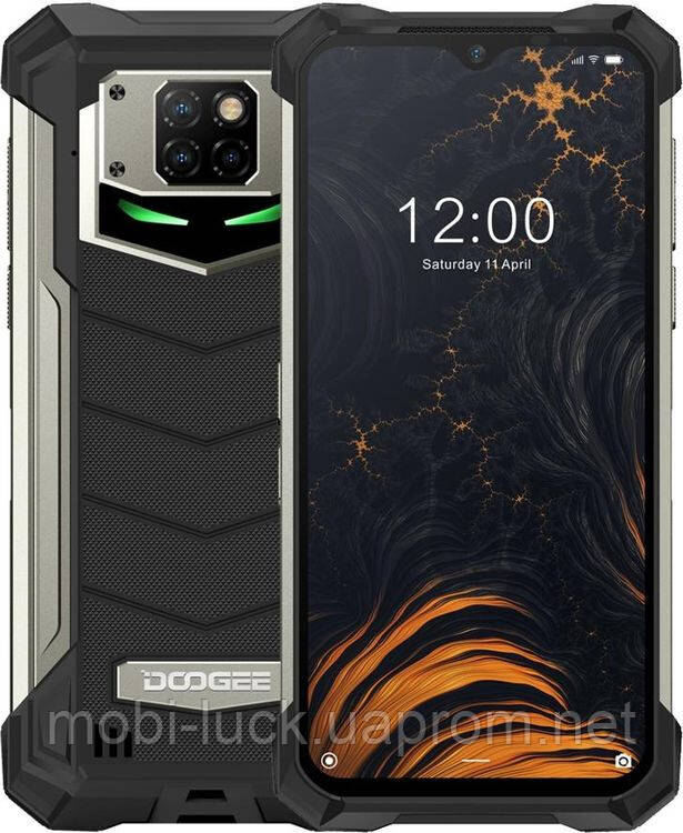 Смартфон Doogee S88 Pro 6/128GB Black