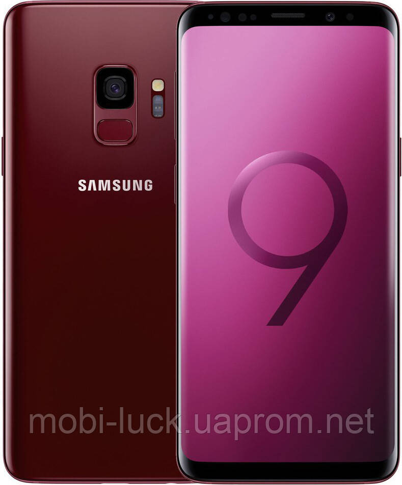 Смартфон Samsung Galaxy S9 2 SIM G960FD Red 64GB G960FD Seller Refurbished