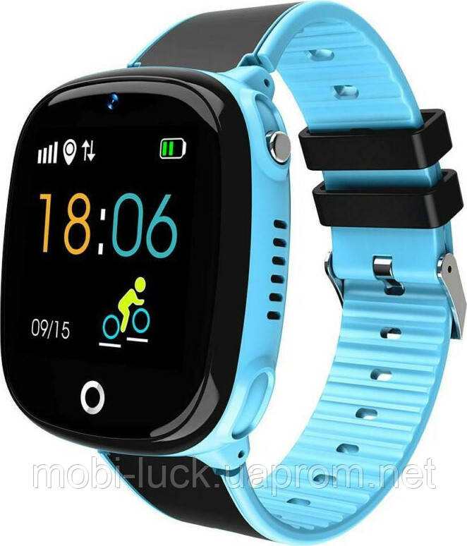 Смарт-часы Smart baby Hw11 Aqua Plus Blue