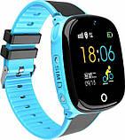 Смарт-часы Smart baby Hw11 Aqua Plus Blue, фото 3