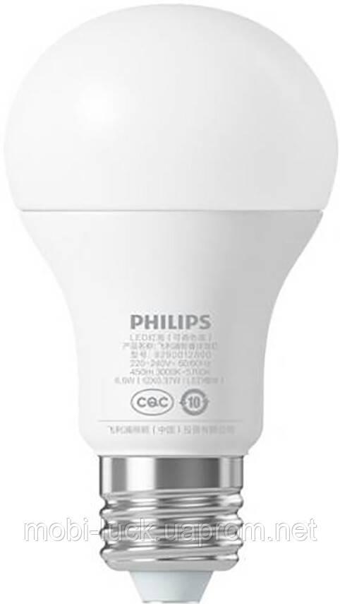 Смарт-лампа Xiaomi Philips LED Smart Bulb (E27)