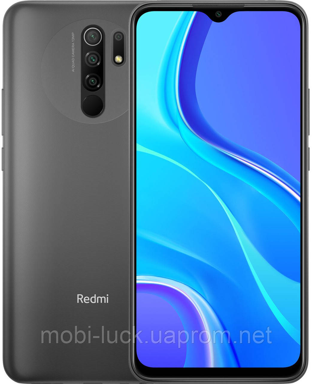 Смартфон Xiaomi Redmi 9 3/32Gb Black Grey (Global) NFC