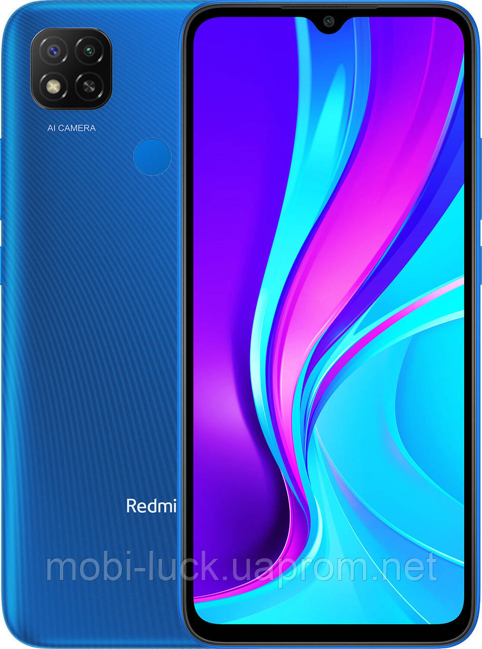 Смартфон Xiaomi Redmi 9C 3/64gb Blue (Global) без NFC