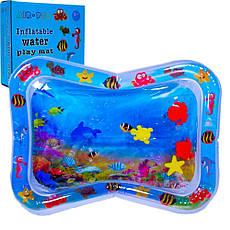 Детский водный надувной игровой коврик AIR PRO inflatable water play mat, фото 3