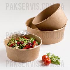 Упаковка для салатів, перших і других страв