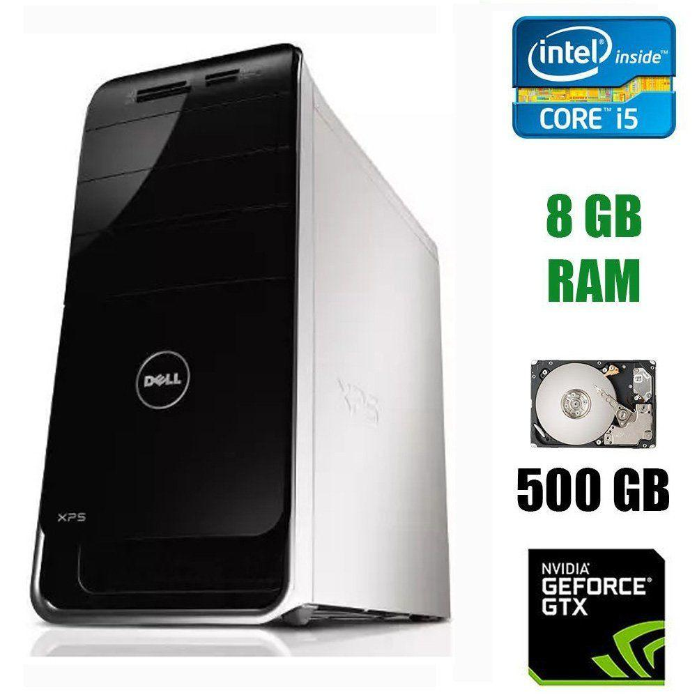Dell XPS 8300 Tower / Intel Core i5-2300 (4 ядра по 2.8 - 3.1 GHz) / 8 GB DDR3 / 500 GB HDD / nVidia GeForce