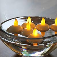 """Электронные """"чайные"""" свечи плавающие"""