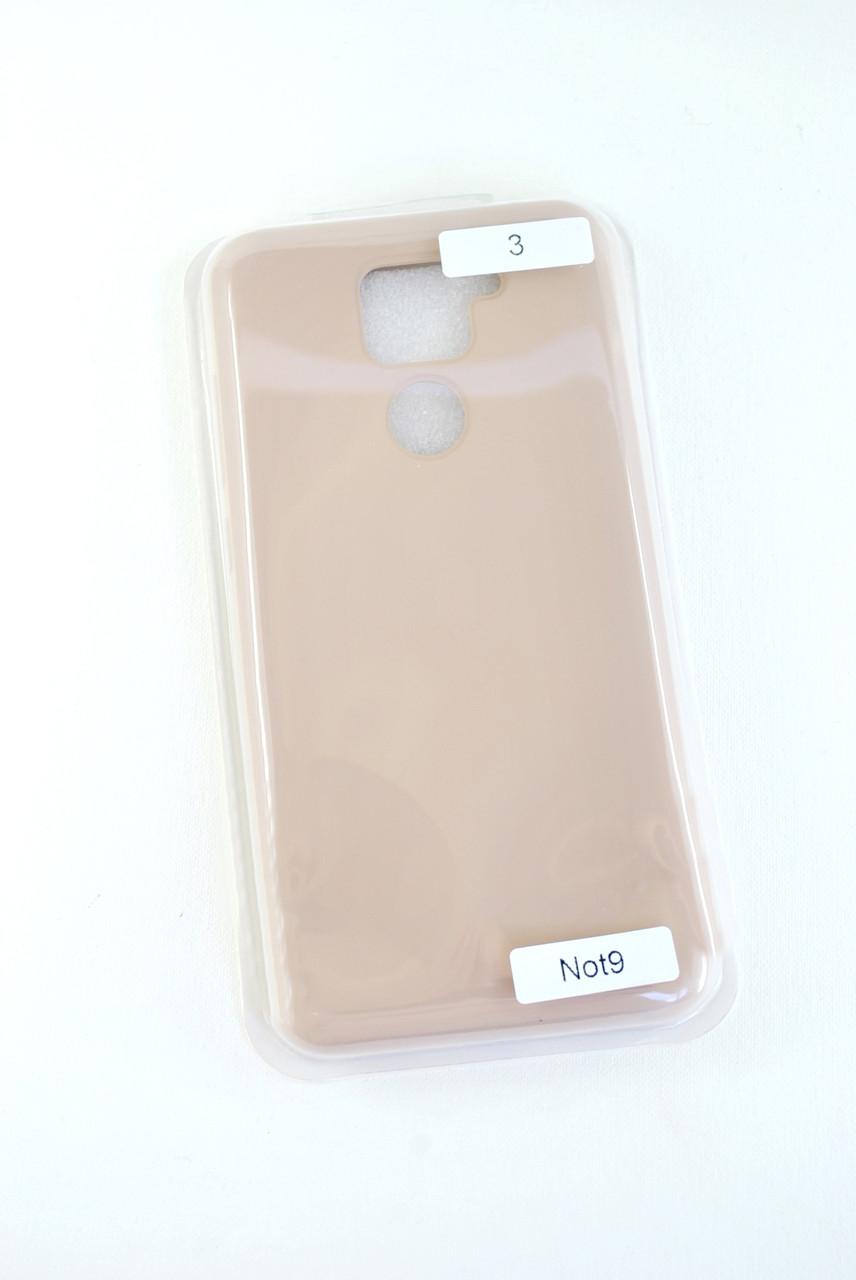 Чехол Xiaomi Redmi 9A Silicon Original Full №3 Pink sand (4you)