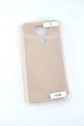Чехол Xiaomi Redmi 9A Silicon Original Full №3 Pink sand (4you), фото 2