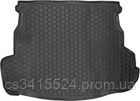 Коврик в багажник пластиковый для FIAT Doblo (2001>) (5м) корот  база с сеткой (Avto-Gumm)