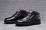 Зимние мужские ботинки 31522, Tommy Hilfiger Denim (мех), черные, [ 40 44 ] р. 40-26,5см., фото 2