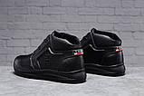 Зимние мужские ботинки 31522, Tommy Hilfiger Denim (мех), черные, [ 40 44 ] р. 40-26,5см., фото 4