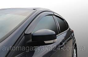 Дефлекторы на боковые стекла Mercedes Benz B-klasse (W246) 2011 VL-tuning