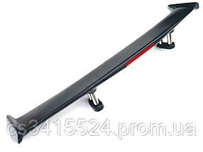 Спойлер Kia Cerato 2 (TD) 2008-2013 (седан) (полистирол/хром)