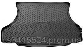 Коврик в багажник пластиковый для ГАЗ 33023 (Газель Фермер 2-й ряд сидений) (Lada Locker)