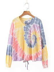 Лонгслив женский в стиле tie dye Magic Berni Fashion (M)
