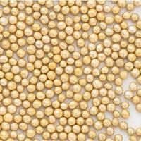 Кулькі цукрові d=2мм 50 г, золоті