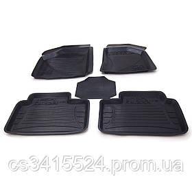 Коврики резиновые для ВАЗ 2110 1995-2014  (с высоким бортом и перемычкой)