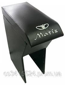 Подлокотник Daewoo Matiz 1998-2014 (с вышивкой)