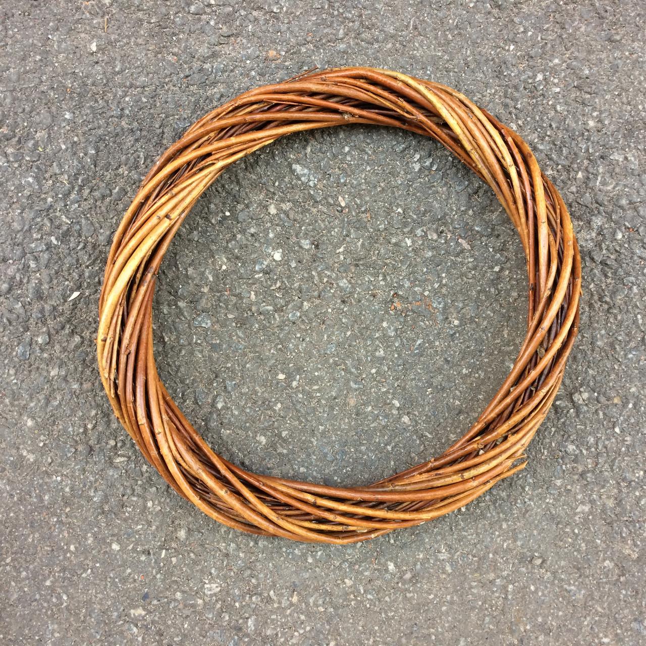 Кольцо. основа  из лозы.30 см. коричневая