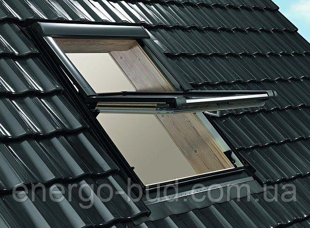 Вікно мансардне Designo WDF R69P H N WD AL 07/09