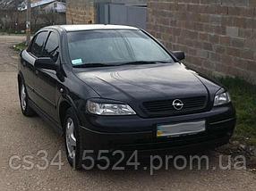 Реснички на фары Opel Astra G (под покраску)
