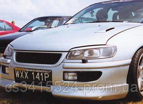 Реснички на фары Opel Omega B (под покраску)