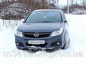 Реснички на фары Opel Vectra C 2005-2009 Facelift (под покраску)
