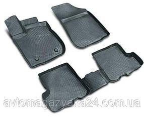 Коврики полиуретановые для Volkswagen Polo V sd (10-) 3D (Lada Locker)
