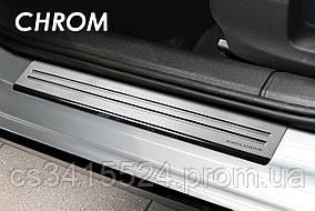 Накладки на пороги (STANDART) VOLVO XC 90 I FL 2006-2011