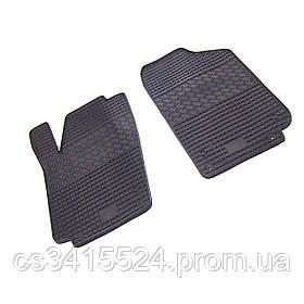 Коврики резиновые для Volkswagen Polo sedan 2010- Передние (POLYTEP LUX)