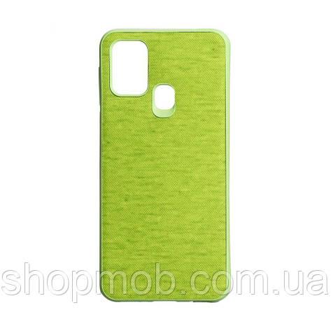 Чехол Jeans for Samsung M31 Цвет Зелёный, фото 2