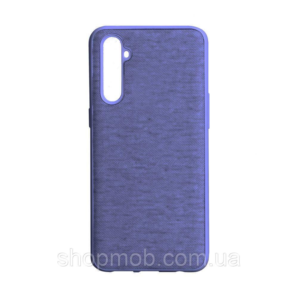Чехол Jeans for Realme C3 Цвет Фиолетовый
