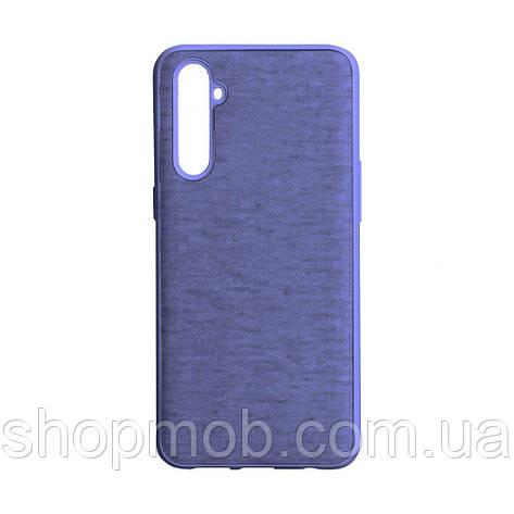 Чехол Jeans for Realme C3 Цвет Фиолетовый, фото 2