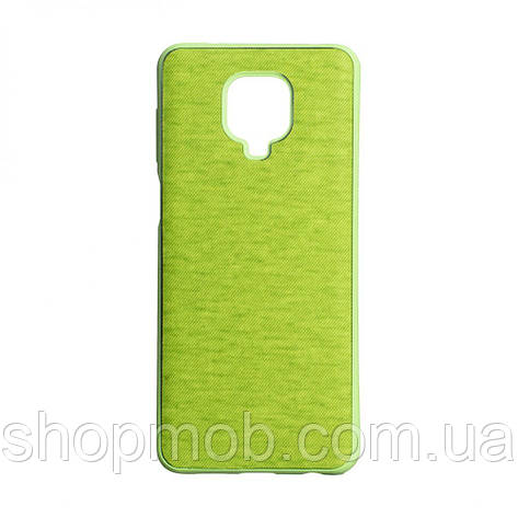 Чохол Jeans for Xiaomi Redmi Note 9s / Pro Колір Зелений, фото 2