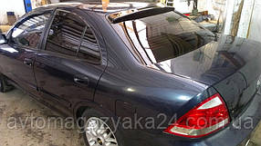 Козырек заднего стекла Nissan Almera сlassic 2000-2012 (на скотче 3М)