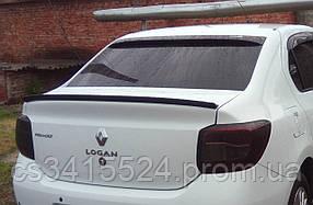 Козырек заднего стекла Renault Logan II 2014 (на скотче 3М)
