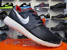 Кроссовки мужские кожаные Nike roshe run , фото 3