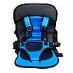 Бескаркасное автокресло для детей, голубой, фото 2