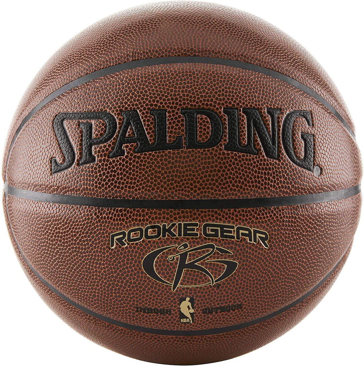 Мяч баскетбольный Spalding Rookie Gear Indoor-Outdoor  Basketball оригинал размер 5 композитная кожа