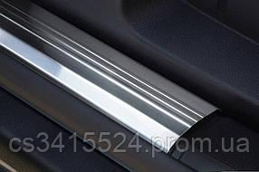Накладки на внутренние пороги MG 350 2011-
