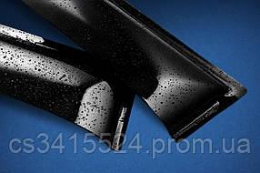 Дефлекторы на боковые стекла Citroen C-Crosser 2007-2012 ANV air