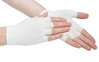 Подперчатки EASY от HANDYboo размер М 1 пара Белые (MAS40023)