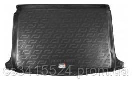 Коврик в багажник пластиковый для FIAT Doblo (2010-2015) (7 мест) корот  база (Lada Loker)