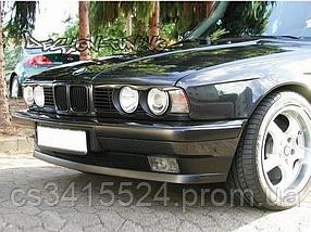 Реснички на фары BMW 5 E34 с вырезами (под покраску)