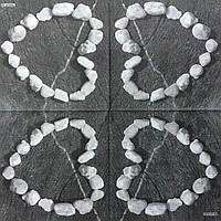 "Салфетка декупажная 33x33см 24 ""Серце из камней""(товар при заказе от 500грн)"