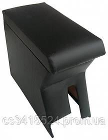 Подлокотник Daewoo Lanos 1997- Черный (без вышивки)