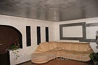 Двухуровневый потолок, перегородка, консоль из гипсокартона.