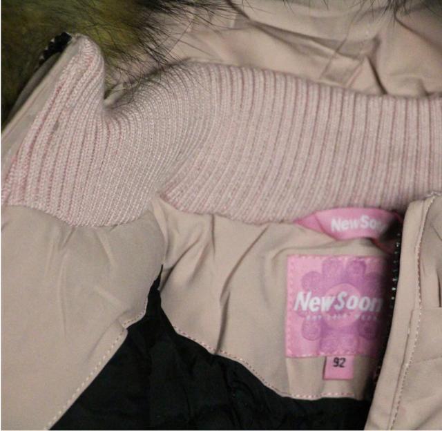 зимний раздельный комбинезон для девочки в розовом цвете